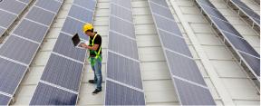 Eigener Solarstrom - gut für die Umwelt, gut fürs Geschäft